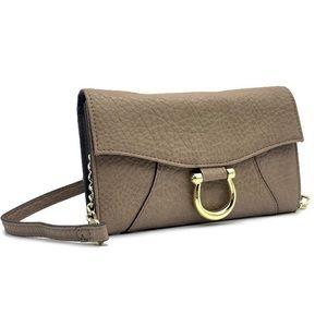 MAX STUDIO 3 in 1 Flap Wallet Crossbody Clutch Bag